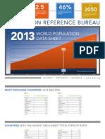 2013 Population Data Sheet Eng