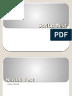 Scribd Test02