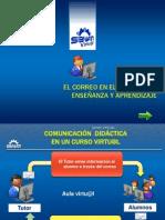 Comunicacion Didactica en Un Curso Virtual