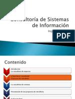 Sesión II - Consultoría de Sistemas de Información