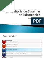 Sesión III - Consultoría de Sistemas de Información