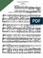 Schubert - Lachen und Weinen (Ruckert), Op.59, No.4