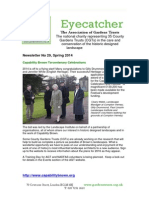 Association of Garden Trusts Newsletter February 2014