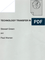 Technology Transfer a Practical Guide