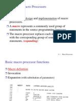 Ch4 Macro Processors