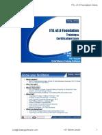 ITIL v3 Nov 2011