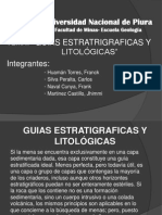 Guias Estratigraficas- Geologia de Minas