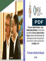 Fernando Adão da Fonseca e João Aníbal Henriques discutem Democracia, Cidadania e Liberdade de Educação nos Açores
