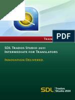 SDL Trados Studio 2011 - Intermediate