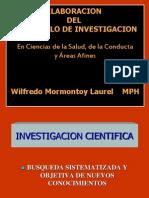 Elaboración del protocolo de investigación