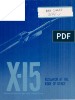 X-15, Research at the Edge of Space