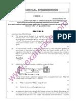 IAS Mains Mechanical Engineering 2005