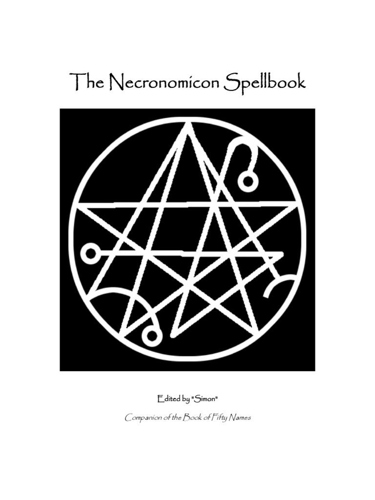 The Necronomicon Spellbook   Magic (Paranormal)   Demons