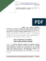 Petição  Inicial -  Execução  de Titulo Extrajudicial