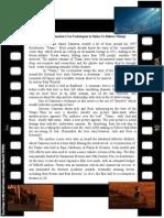 Worksheet Bun Pt Making Movies
