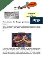 Torcedores do Barça preferem Neymar no banco