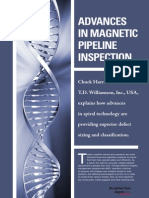 Advances in Magnetic Pipeline Inspection