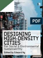 Designing High Density Cities