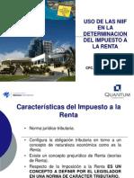 Uso de las NIIF en la determinación del IR  CIC Uruguay