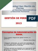 3a Semana La Gestión de RR.HH.