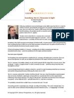 David Rosenberg-No US Recession in Sight