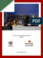 Rendición de Cuentas Bucaramanga 2013