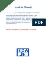 Manual de Manejo Spanish