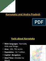 Karnataka Andhra Pradesh