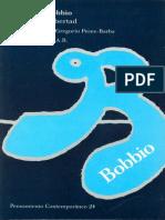 Bobbio, Igualdad Y Libertad