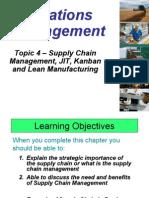 Topic 4_ Supply Chain,JIT,Kanban,Lean_students Handout