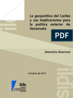 La geopolítica del Caribe y sus implicaciones para la política exterior de Venezuela_Demetrio Boersner