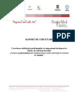 Raport Final Cercetare Satisfactie Sinaia
