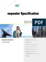 15dBm EW Repeater Specification