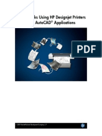 Tips & Tricks Using HP Designjet Printers With AutoCAD Applications 2009