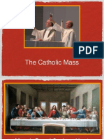 parts of the mass powerpoint