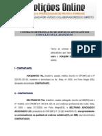 Contrato de Honorários Advocatícios com Cláusula Ad Exitum