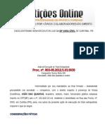 Pedido de liberação de penhora online - Cível - Poupança