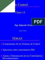 Clase SC14-2013-II (Acciones de Control-2)