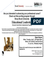 Educational District Leadership Open House 4.1.2014