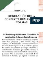 Capitulo 2 Introduccion al Derecho REGULACIÓN DE LA CONDUCTA HUMANA