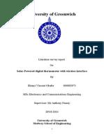 Complete Literature Survey Report