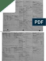report sheets