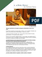 Entrevista a Petia Petrov - Completa