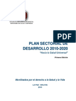 Plan Sectorial de Desarrollo 2010-2020 Final Con RM