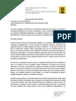 Posicionamiento - Candidaturas Independientes SÍ, simulación NO