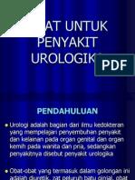 Obat Untuk Penyakit Urologika