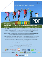 March 14th Parenting Flyer