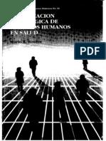 PLANIFICACIÓN ESTRATEGICA DE RECURSOS HUMANOS EN SALUD Rovere
