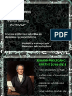 Goethe - Patnje Mladog Werthera