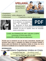Promocion Capellania